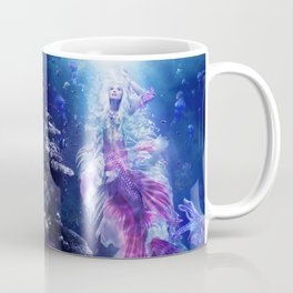 The Mermaid's Encounter Coffee Mug