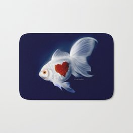 Fishy Knows It Best Bath Mat