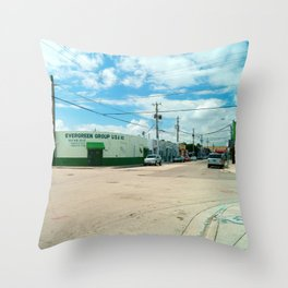 STREETART SILL LIFE - MIAMI by Jay Hops Throw Pillow