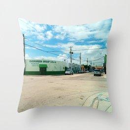 STREETART SILL LIFE - MIAMI by Jay Hops Throw Pillow