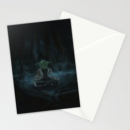 Meditation On Dagobah Stationery Cards