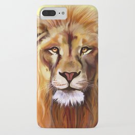 Lion of Africa iPhone Case