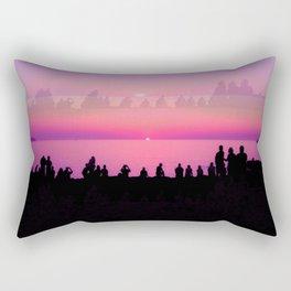Ibiza Sunset Rectangular Pillow