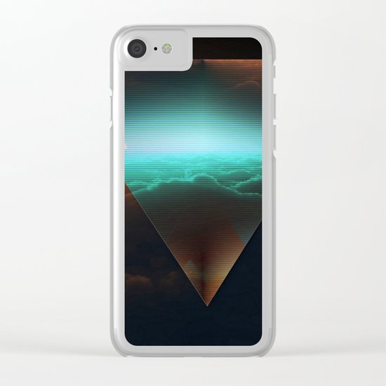 A.I Space Clear iPhone Case