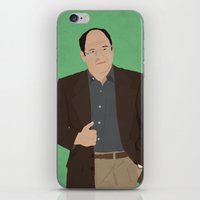 seinfeld iPhone & iPod Skins featuring George Costanza // Seinfeld // Graphic Design by Dick Smith Designs