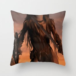 It Comes..... Throw Pillow
