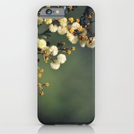 Green and Gold iPhone Case