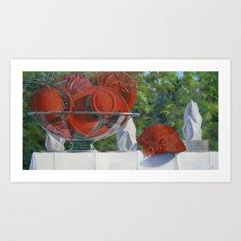 Bowl of Cherries — Ladies Vintage Hats Art Print