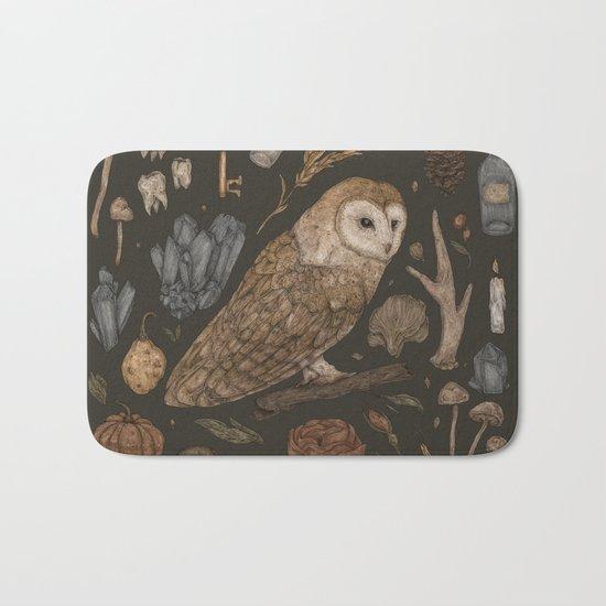 Harvest Owl Bath Mat