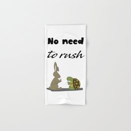 No rush Hand & Bath Towel