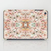 minerals iPad Cases featuring Mystic Minerals by Caroline Sansone