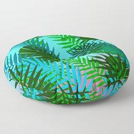Hawaiian Style Pattern Floor Pillow