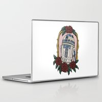 r2d2 Laptop & iPad Skins featuring R2D2 by Bare Wolfe