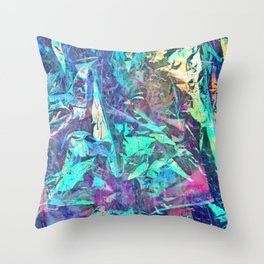 Rainbow Dark Print Throw Pillow