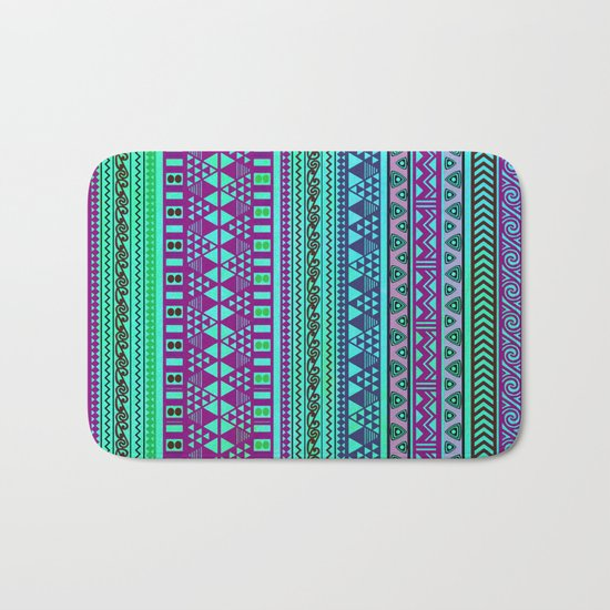 Inspired Aztec Pattern 4 Bath Mat