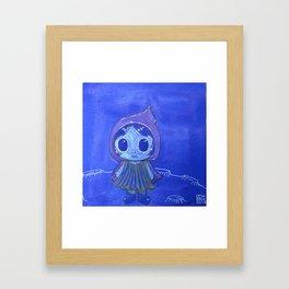 Moonkhin 5 (Iridum Cobalt) Framed Art Print