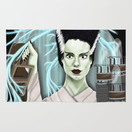 The Bride of Frankenstein Rug