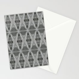 SnowDiamondsOfGray Stationery Cards