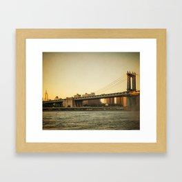 Golden Empire Framed Art Print