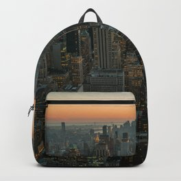New York Skyline - Manhattan Night Backpack