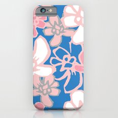 Camelia Woodcut Slim Case iPhone 6s