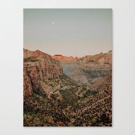 Zion National Park V / Utah Desert Canvas Print