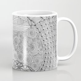 Tiny Lines, Looming Dread Coffee Mug