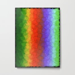 Stitch Your Stress Away Metal Print