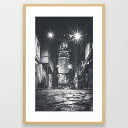Istanbulian Night Framed Art Print