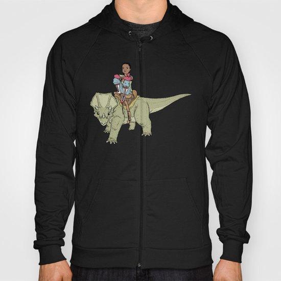 A Boy and his Dinosaur Hoody