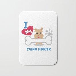CAIRN TERRIER Cute Dog Gift Idea Funny Dogs Bath Mat