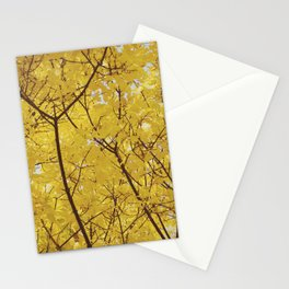 Colorado Autumn in Yellow Stationery Cards