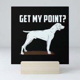 German Shorthair Pointer Hunting Hunter Gundog Mini Art Print