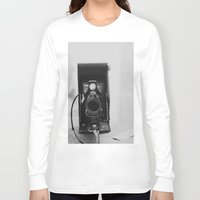 vintage camera Long Sleeve T-shirts featuring Vintage Camera by KimberosePhotography