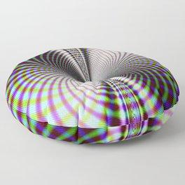 Fractal Moire Floor Pillow