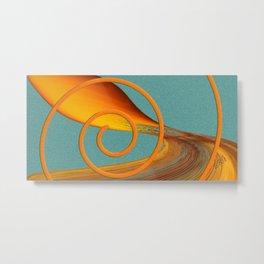 Color Me Bright Metal Print