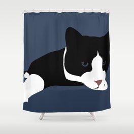 Lazy Reach Shower Curtain