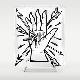 Some Cupid Kill Shower Curtain