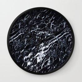 Real Marble Black Wall Clock