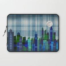 Plaid City Twilight Laptop Sleeve
