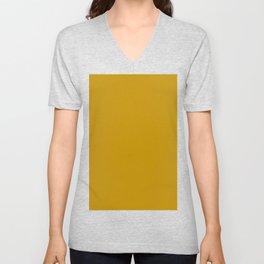 Dijon Solid Color Block Unisex V-Neck