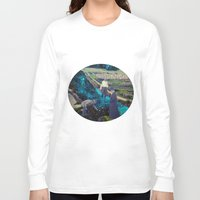 river Long Sleeve T-shirts featuring River by Cs025