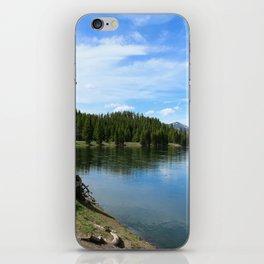 Serene Yellowstone River iPhone Skin
