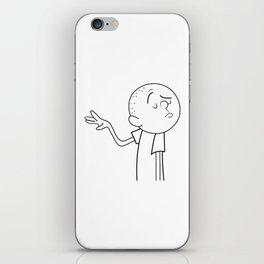 Karl Pilkington iPhone Skin