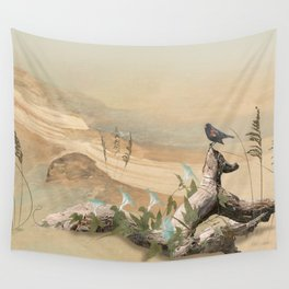 Beach Oasis Wall Tapestry