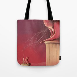 Judgement day Tote Bag
