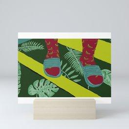 Summer-Socks & Style Inverted 1st Edition Mini Art Print