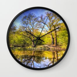 The Tranquil Pond Wall Clock