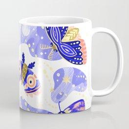 Moths Trans Coffee Mug