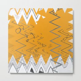 Origin of Symetry - Waves Metal Print